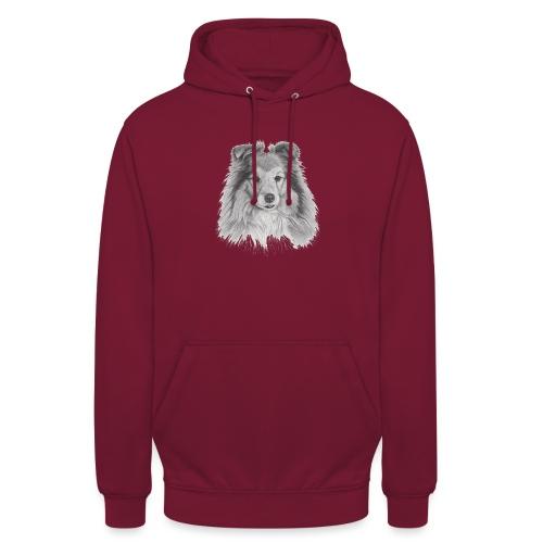 shetland sheepdog sheltie - Hættetrøje unisex