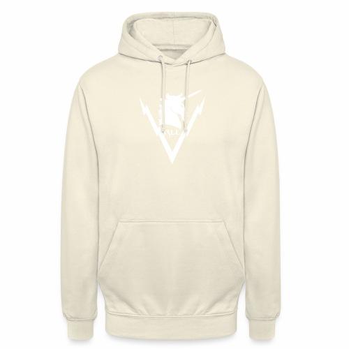 Brand RLL White - Felpa con cappuccio unisex