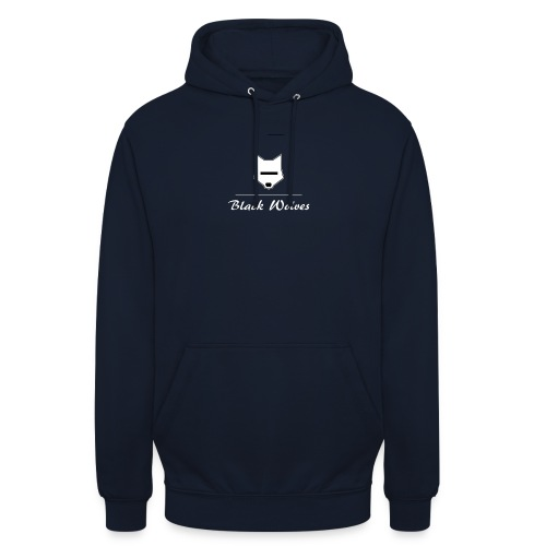 blackwolves Transperant - Sweat-shirt à capuche unisexe