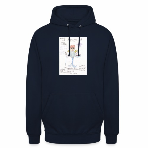 Big Swimmer Bill DHIRT - Unisex Hoodie