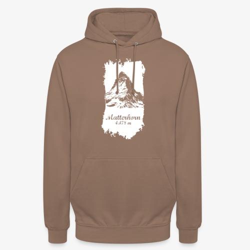 Matterhorn - Cervino - Unisex Hoodie