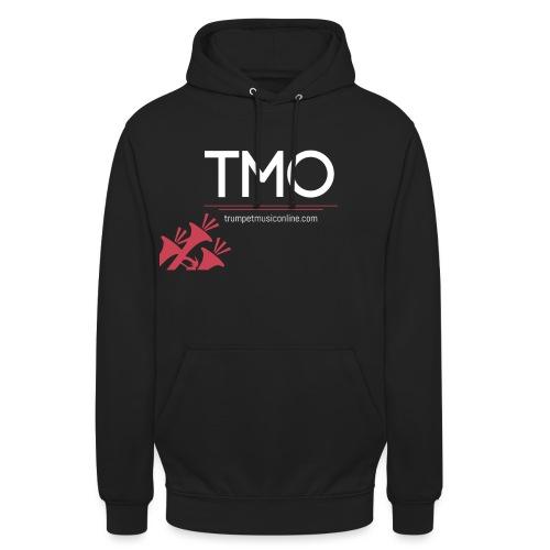 TMO official logo white - Unisex Hoodie