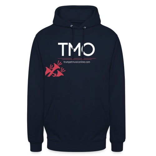 TMO official logo white - Unisex Hoodie