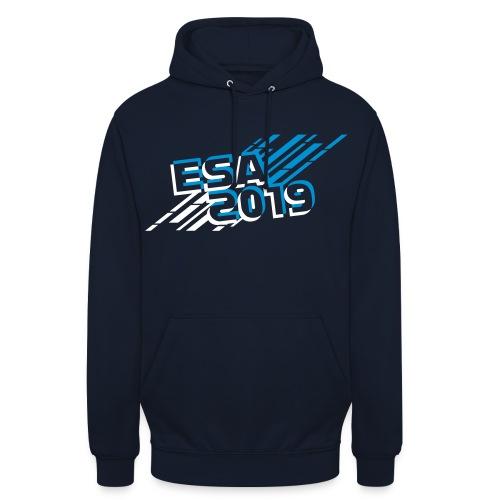 ESA Winter 2019 Icy Blue Logo - Unisex Hoodie
