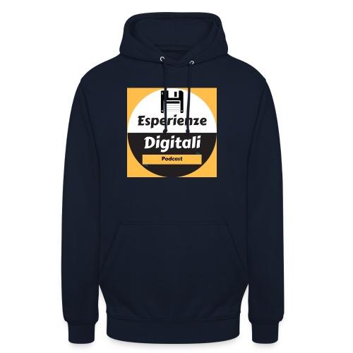 Logo Esperienze Digitali - Felpa con cappuccio unisex