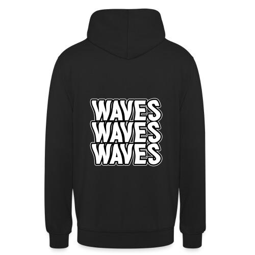 Waves Hættetrøje - Hættetrøje unisex