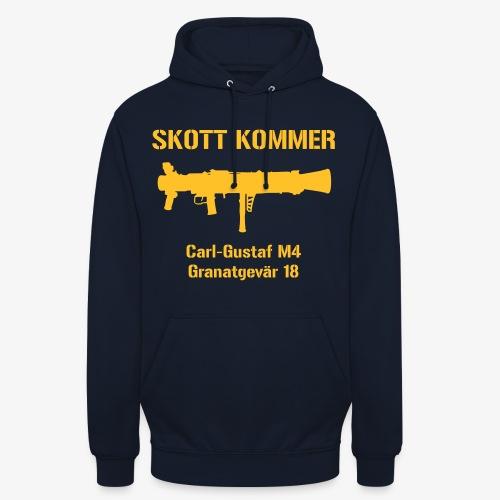 SKOTT KOMMER - KLART BAKÅT - SWE Flag - Luvtröja unisex