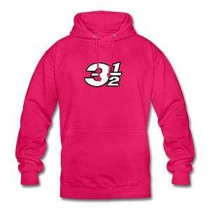 Three and a Half Logo - Unisex Hoodie