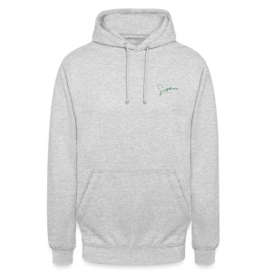 Signature. - Sweat-shirt à capuche unisexe