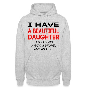 beautiful_daughter - Unisex-hettegenser