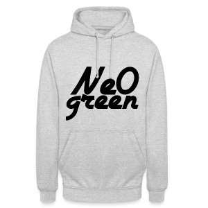 Ne0Green - Sweat-shirt à capuche unisexe