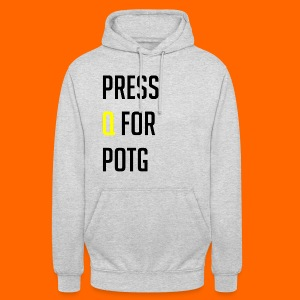 Press Q for play of the game - Unisex Hoodie