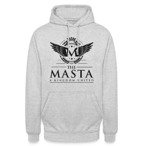Die MASTA - Ein Königreich United / Full Logo - Unisex Hoodie