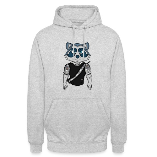 Pull [Logo dino236boss] - Sweat-shirt à capuche unisexe