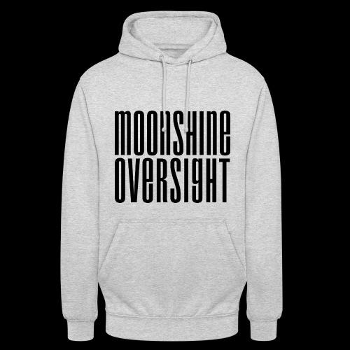 Moonshine Oversight noir - Sweat-shirt à capuche unisexe