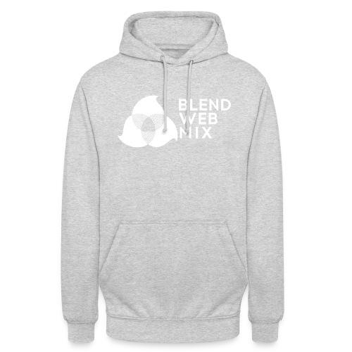 logo bland - Sweat-shirt à capuche unisexe
