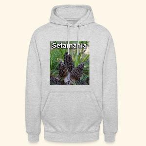Colmenillas setamania - Sudadera con capucha unisex