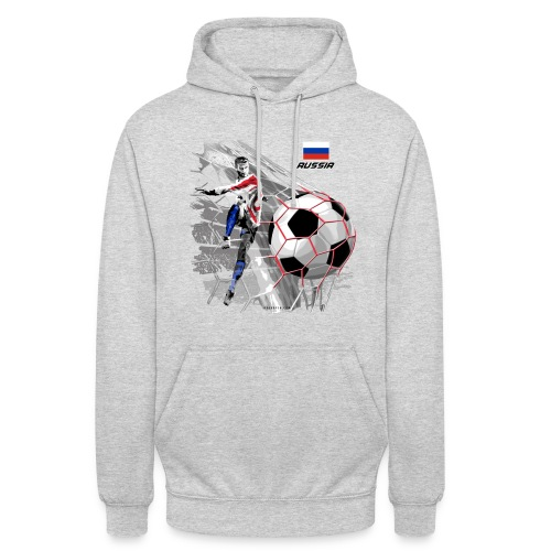 """GP22F-04 RUSSIAN FOOTBALL TEXTILES AND GIFTS - Huppari """"unisex"""""""