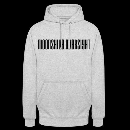 Moonshine Oversight logo - Sweat-shirt à capuche unisexe