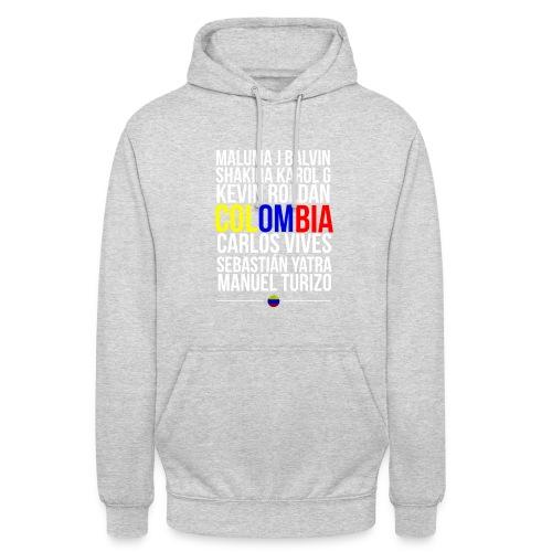Reggaeton Shirt Kolumbien - Unisex Hoodie