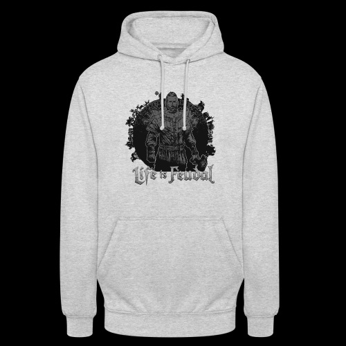 Life is Feudal SteamBadge 2 - Sweat-shirt à capuche unisexe