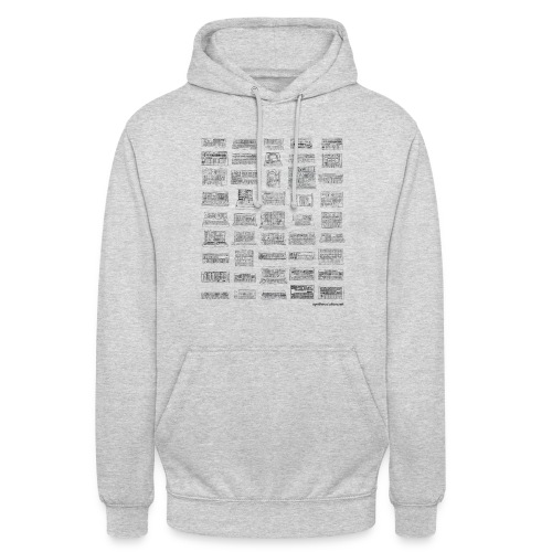Synth Evolution T-shirt - White - Unisex Hoodie