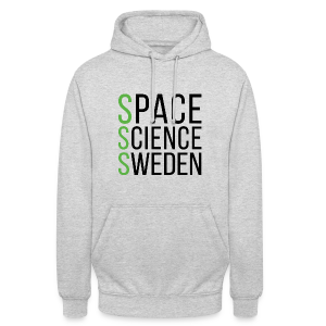 Space Science Sweden - svart - Luvtröja unisex