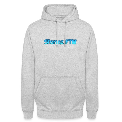 Stormz FTW blue and white fade - Unisex Hoodie