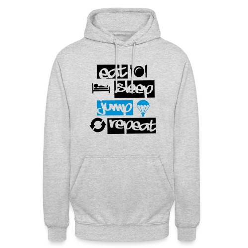 Eat Sleep Jump Repeat - Unisex Hoodie