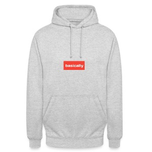 Basically merch - Unisex Hoodie