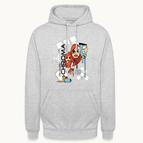 Chroma - Sweat-shirt à capuche unisexe