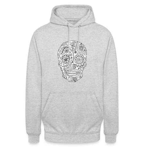 Sugar Skull - Sweat-shirt à capuche unisexe