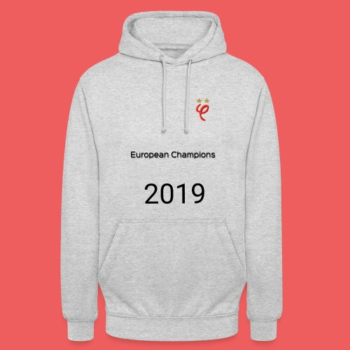 Phi european champions 2019 - Sweat-shirt à capuche unisexe