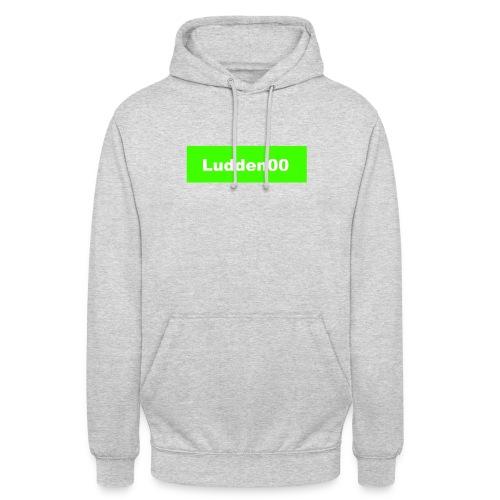 Ludden00 Green - Luvtröja unisex