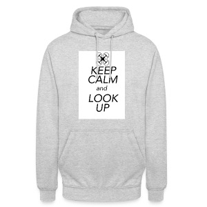 Keep Calm and Look Up - Hoodie unisex