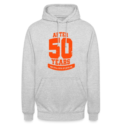 Ü50 Über 50 Jahre 50th - colorize - Unisex Hoodie