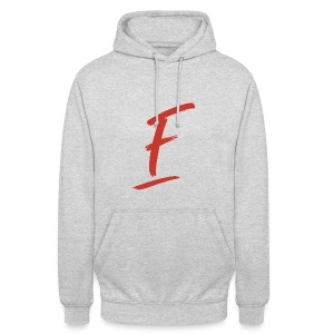 Radio Fugue F Rouge - Sweat-shirt à capuche unisexe