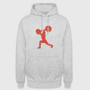 Body Building Weight Lifter - Unisex Hoodie