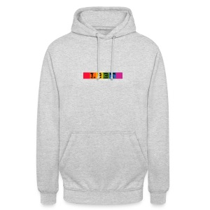 The LGBT Network Logo White - Unisex Hoodie