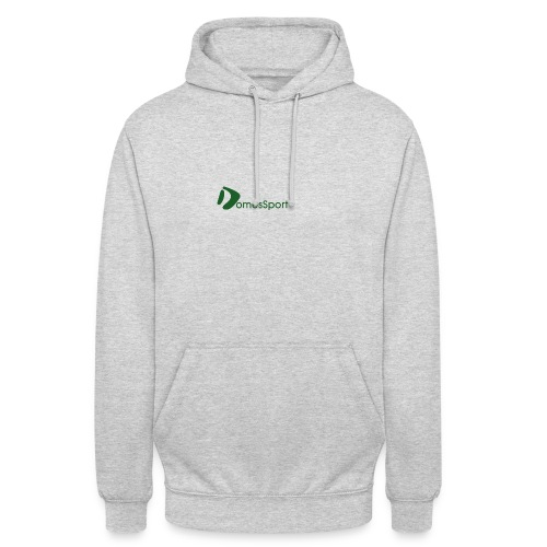 Logo DomesSport Green noBg - Unisex Hoodie