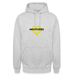 Mouthsex Diamond Black Font - Unisex Hoodie