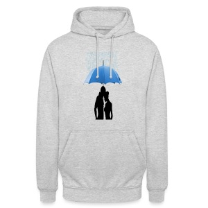 Love under the umbrella - Hoodie unisex