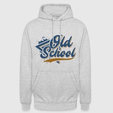 Old School - Luvtröja unisex