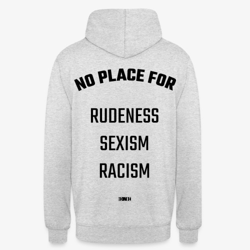 No place for Hoodie / Pullover - Unisex Hoodie