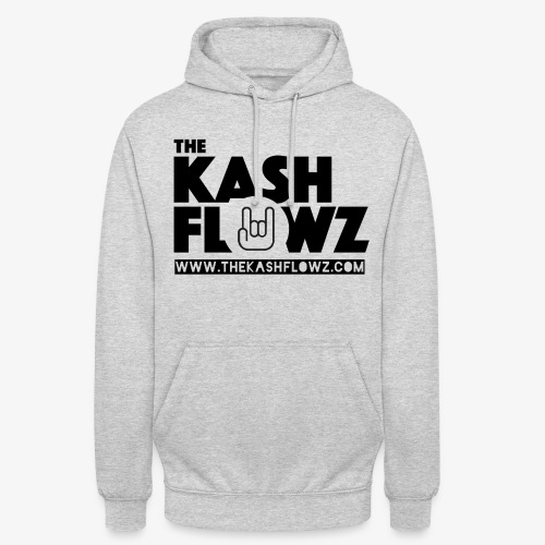 The Kash Flowz Official Web Site Black - Sweat-shirt à capuche unisexe