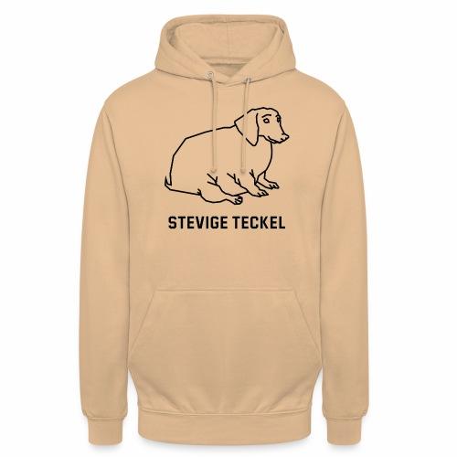 Stevige Teckel - Hoodie unisex