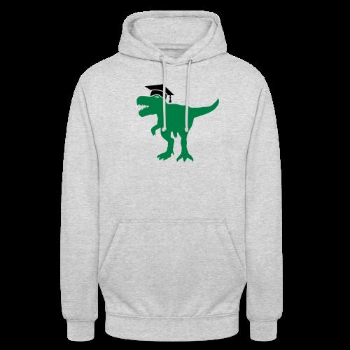 Dinosaurier Doktorhut Promotion Dissertation - Unisex Hoodie