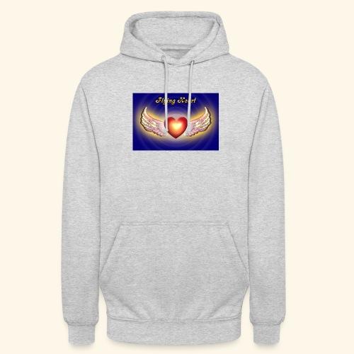 Flying Heart - Unisex Hoodie