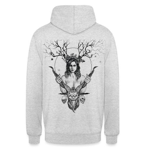 Lady Demon (white) - Unisex Hoodie