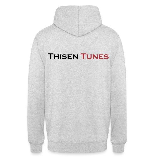 Thisen Tunes - Hættetrøje unisex